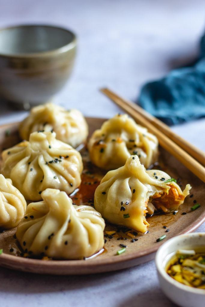 Garniture pour dumplings sans viande