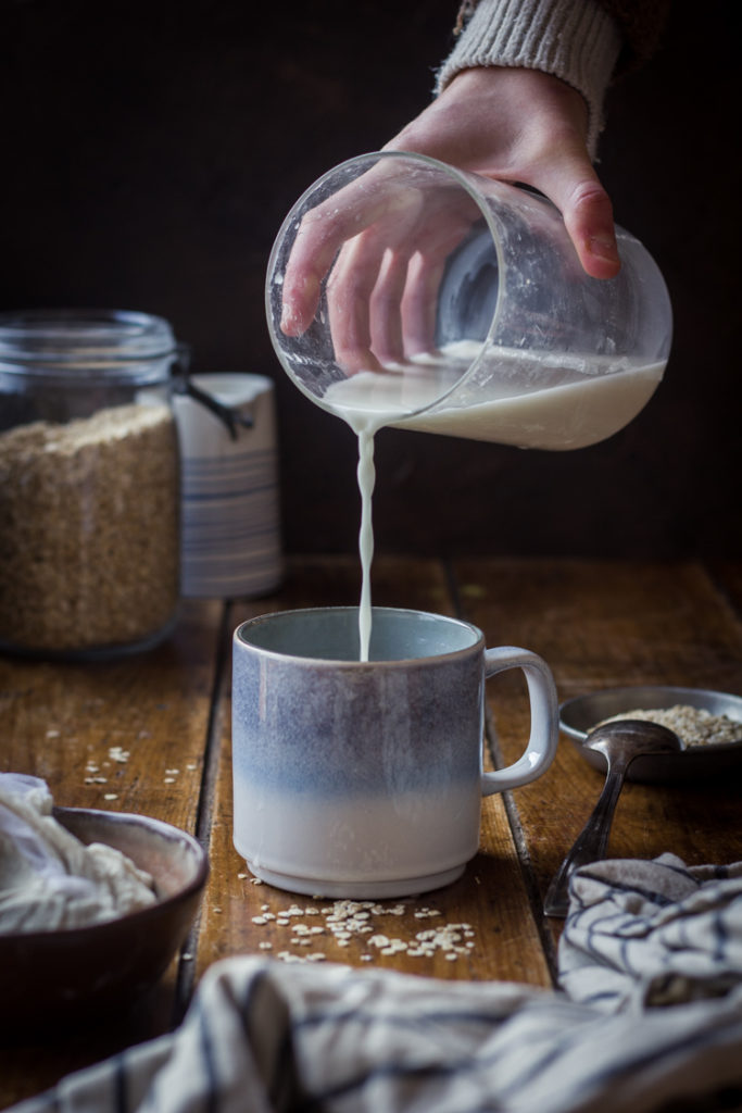 Recette du lait d'avoine