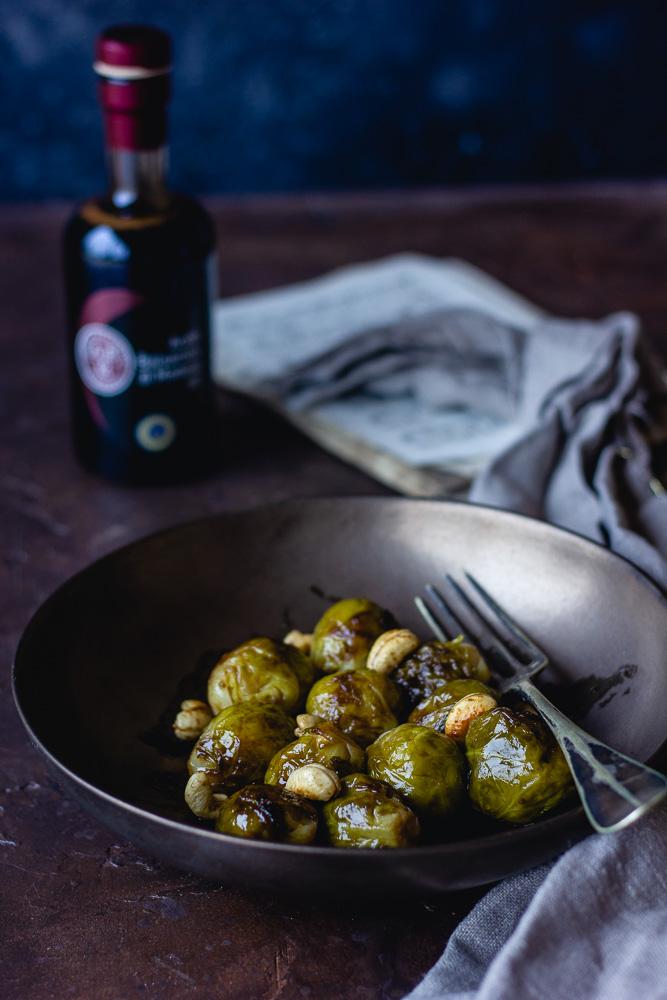 Choux de Bruxelles cuits à la vapeur