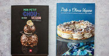 Comparatif livres de pâte à choux vegan