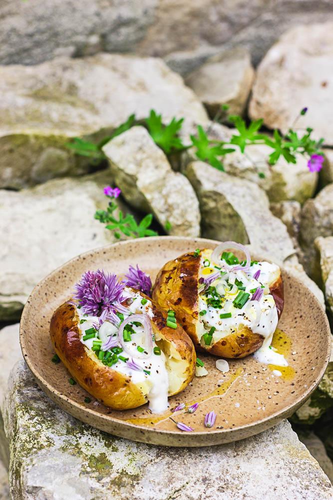 Pommes de terre pour le barbecue