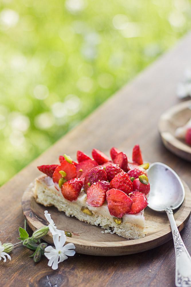 Comment faire une tarte aux fraises
