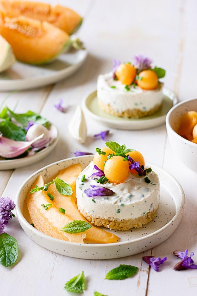 Recette de cheesecake sans lactose salé