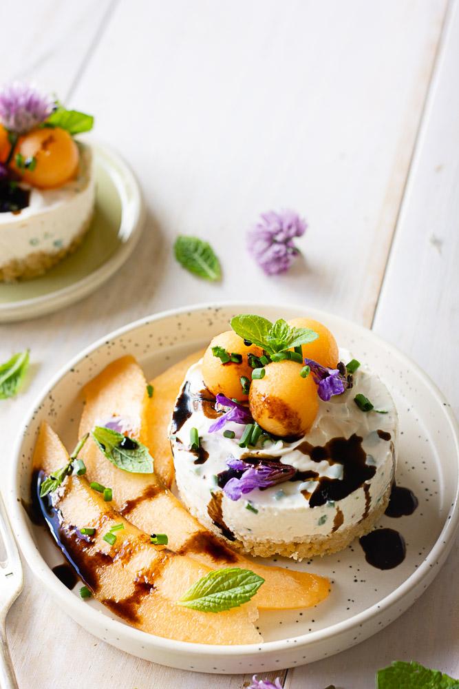 Recette de cheesecake sucré-salé