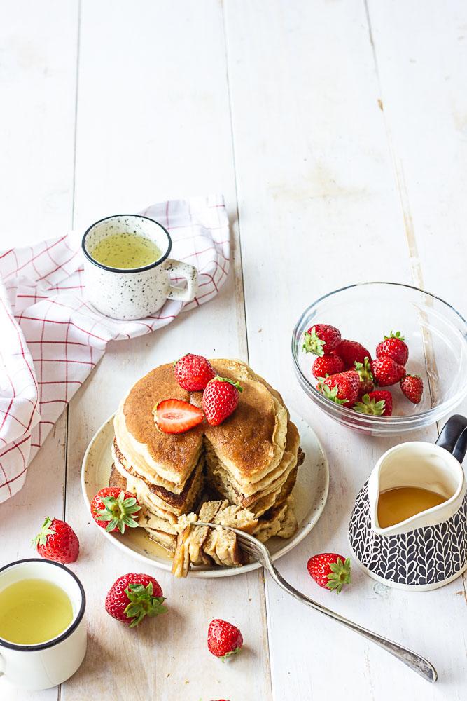 Pancakes sans oeufs