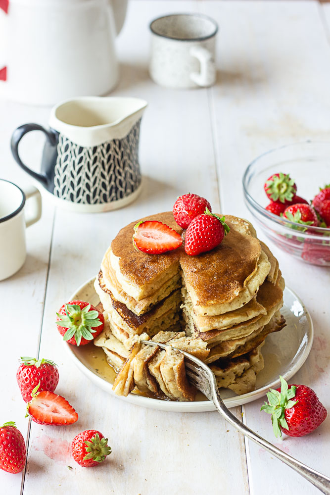Pancakes léger vegan