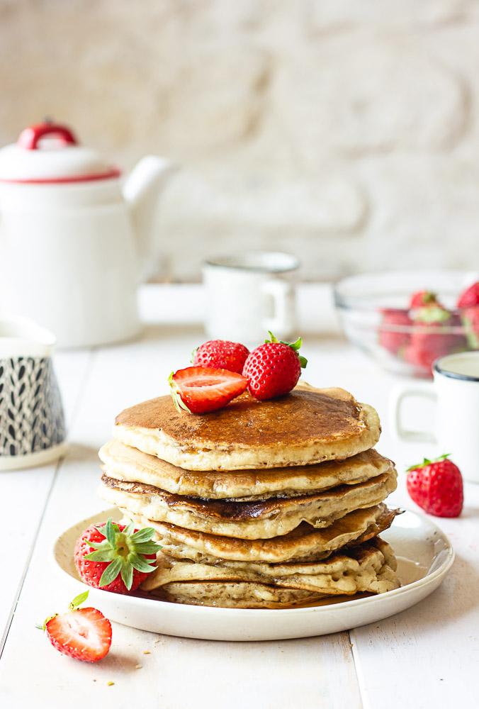 Pancakes vegan faciles
