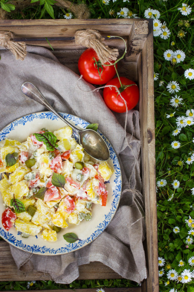 salade piémontaise végétarienne