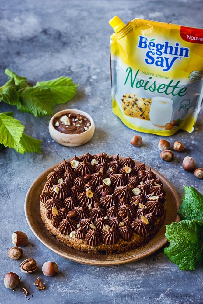 Cookies géant chocolat et noisette