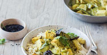 Recette de tofu au curry
