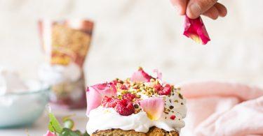 Recette de cake aux framboises
