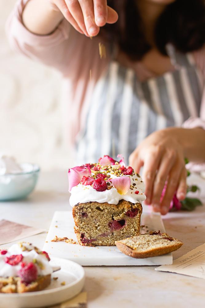 Cake aux pistaches vegan