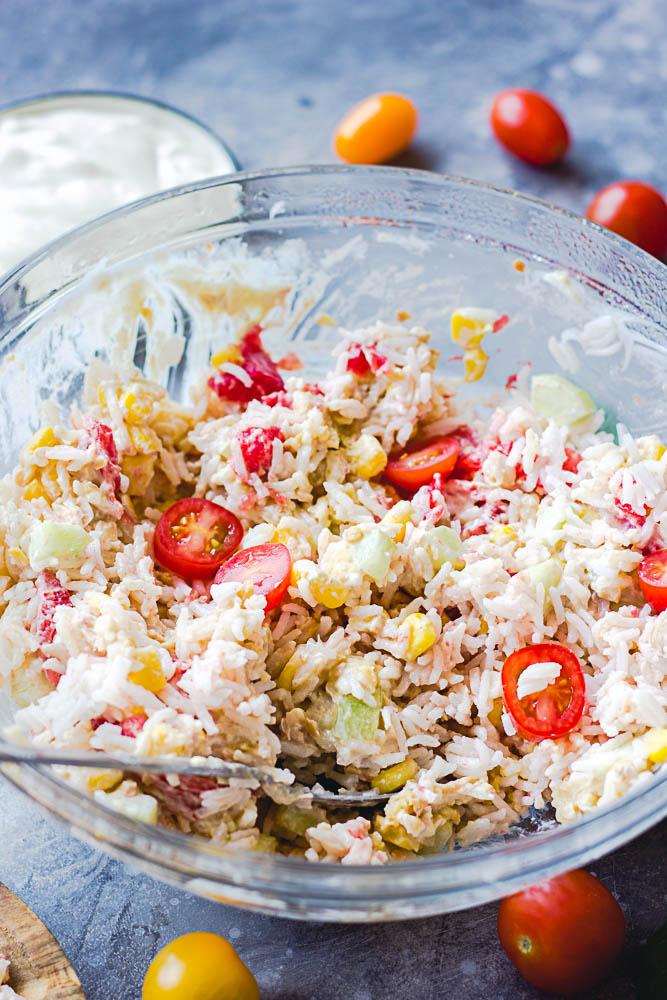 Salade thon mayonnaise vegan