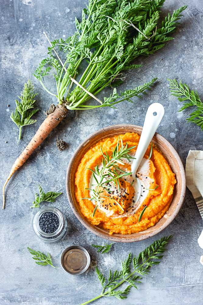 Purée de carottes maison