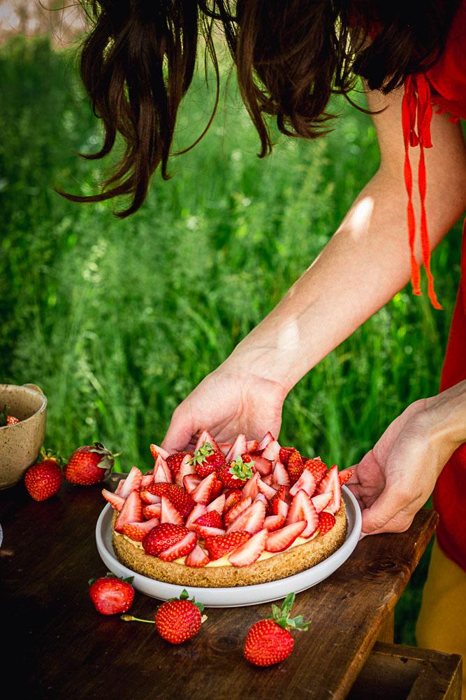 Sablé breton fraise et citron