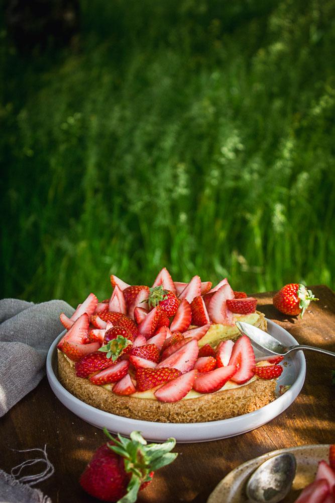 Fantastik vegan aux fraises et au citron