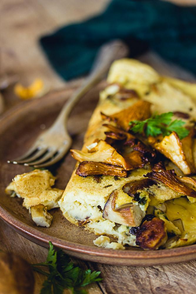 Recette d'omelettes vegan