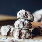 Crinkles végétaliens au chocolat