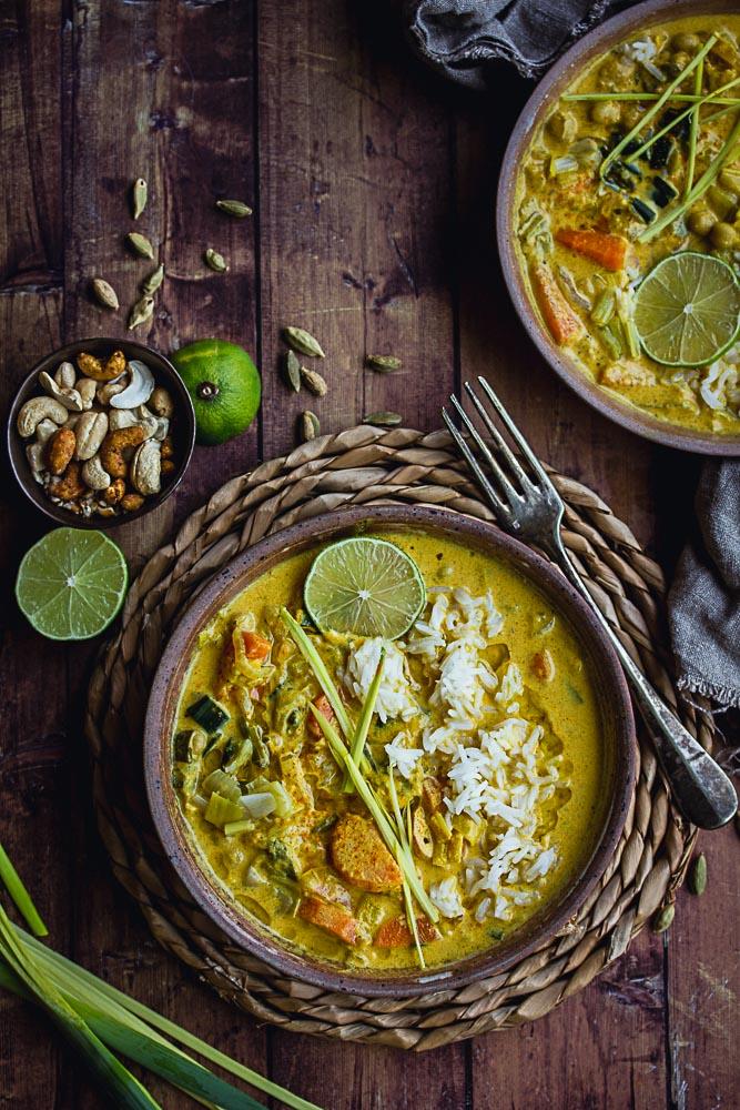Comment faire un curry de légumes