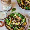Recette de salade d'hiver