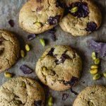 Cookies vegan pistache chocolat