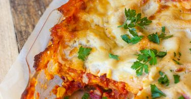 Lasagnes façon chili