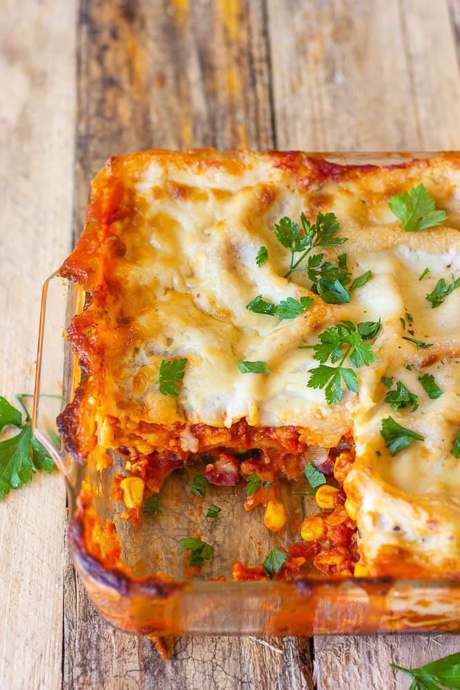 Lasagnes sans lactose