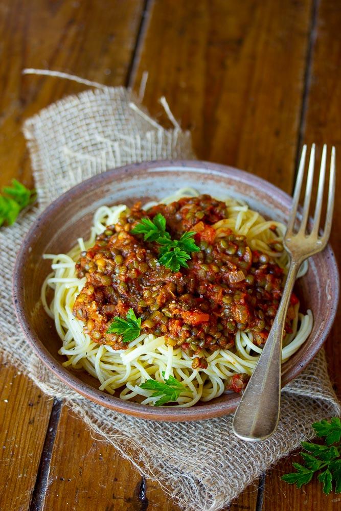 Recette de sauce bolognaise vegan