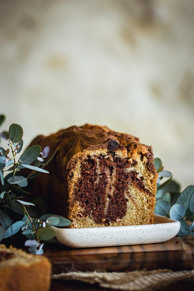 Recette de cake marbré vegan