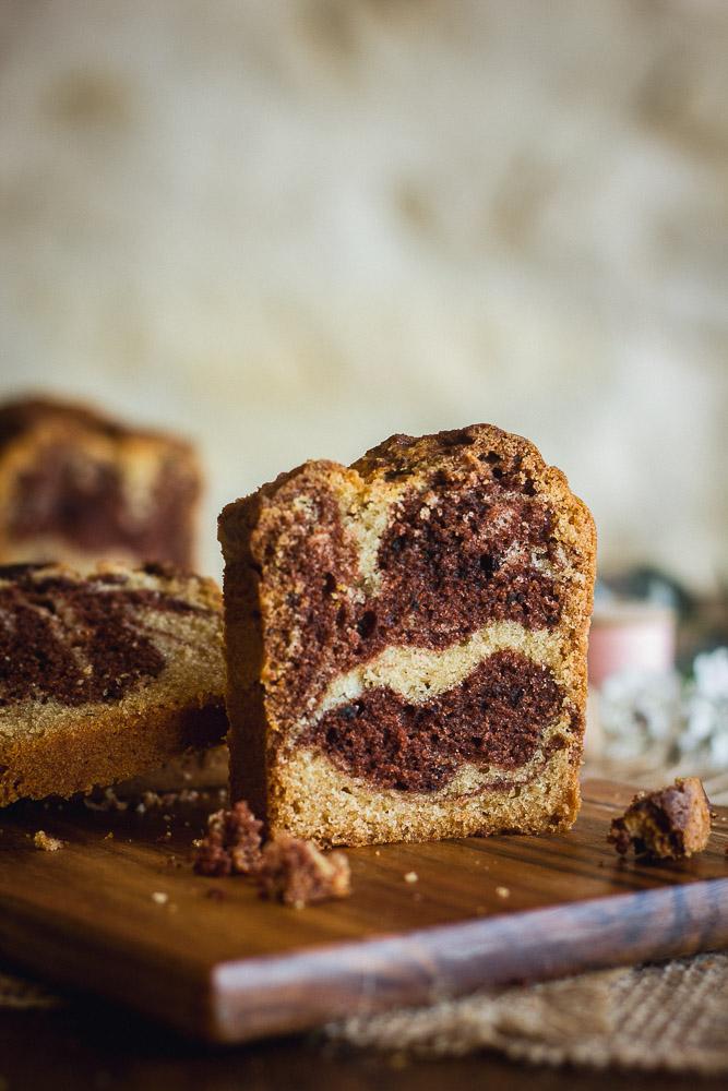 Cake marbré comme le Brossard
