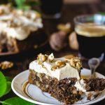 Recette de gâteau aux noix vegan