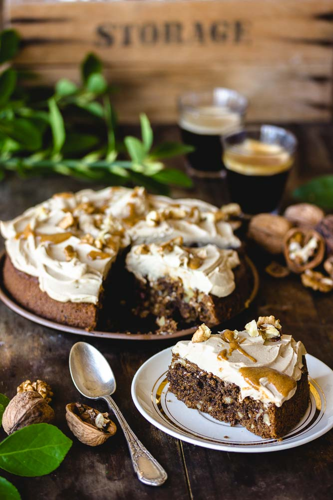 Cake aux noix et au café