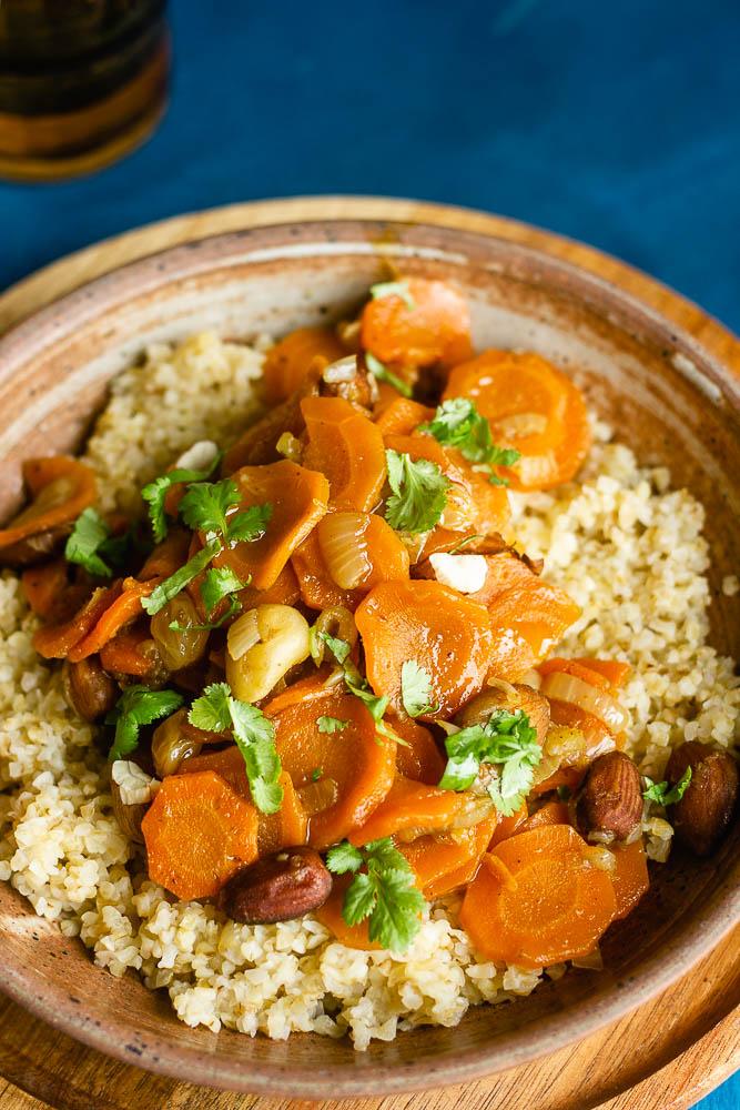 Recette de carottes confites aux épices