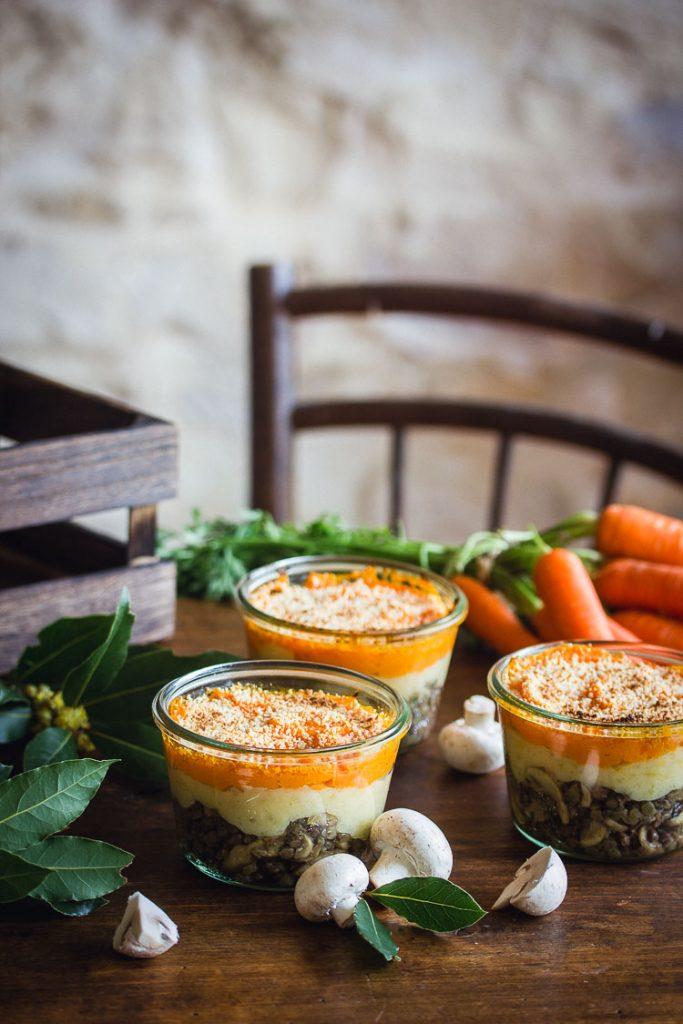 Hachis parmentier à la carotte