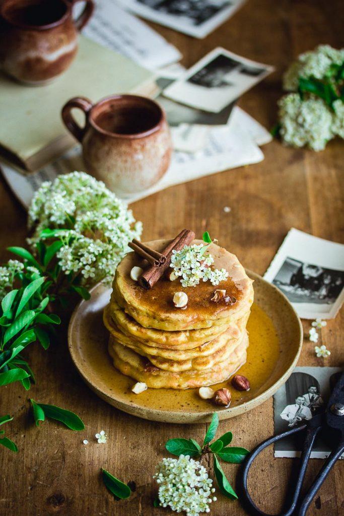 Pancakes à la carotte