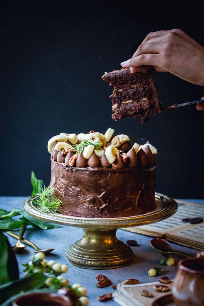 Gâteau à étages