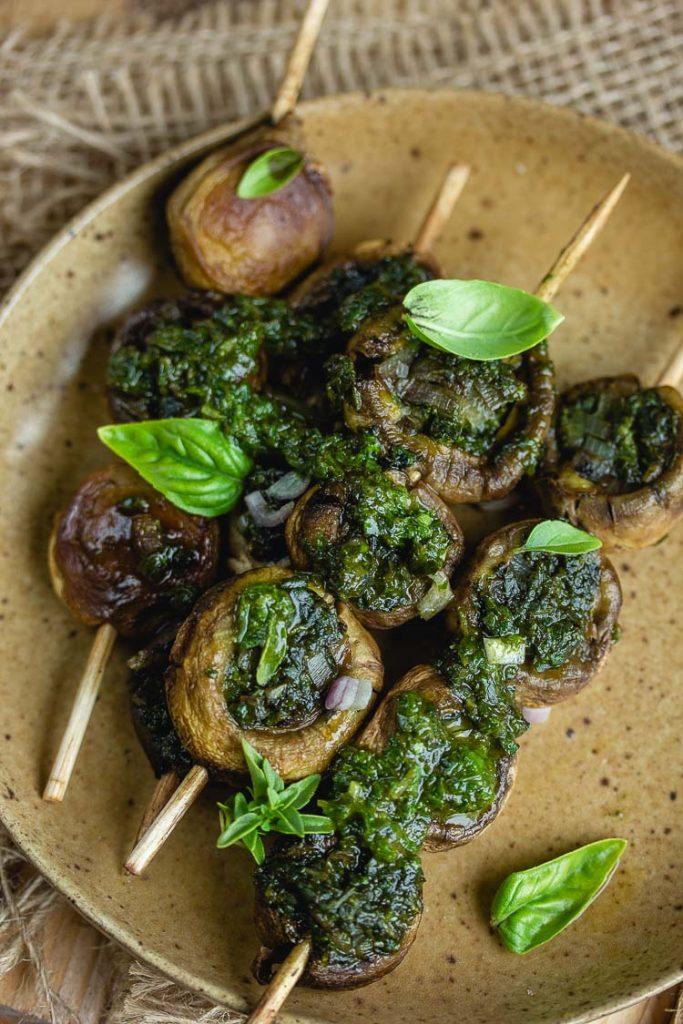 Brochettes sans viande