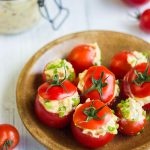 Tomates cerises pour l'apéritif