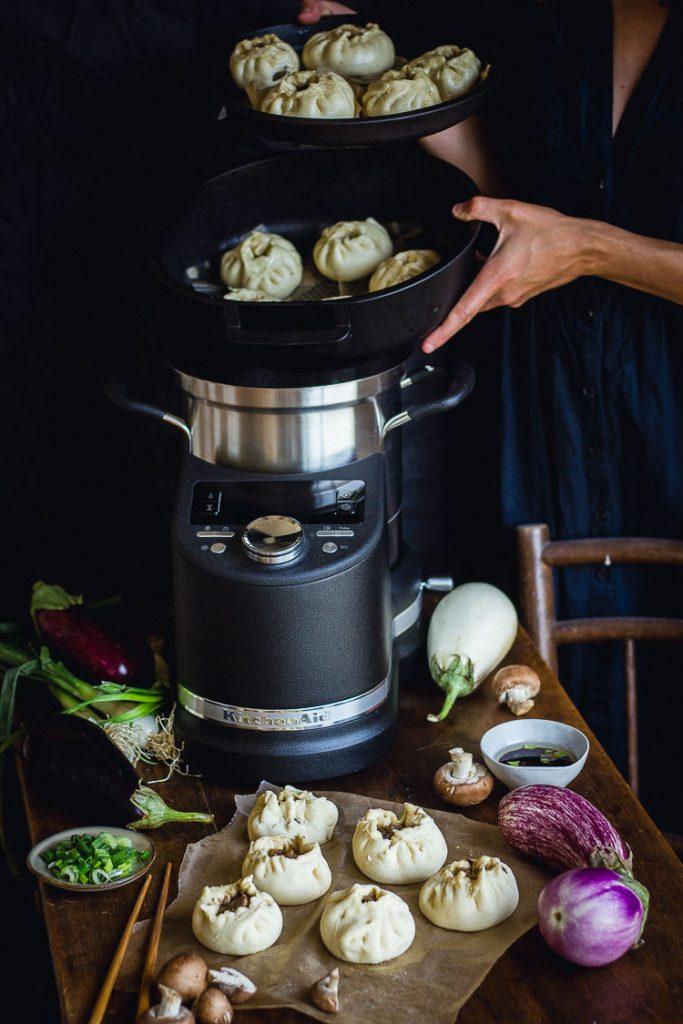 Cuisson vapeur du Cook Processor KitchenAid