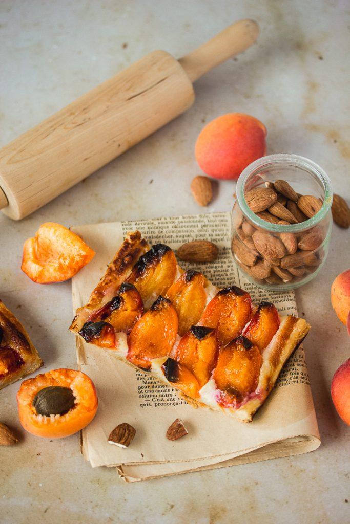 Comment faire une tarte fine aux abricots?