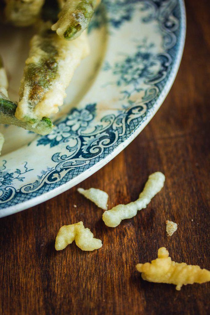 Pâte à beignets de légumes