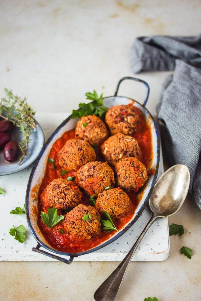 Boulettes de viande vegan