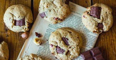 Cookies vegan aux noisettes