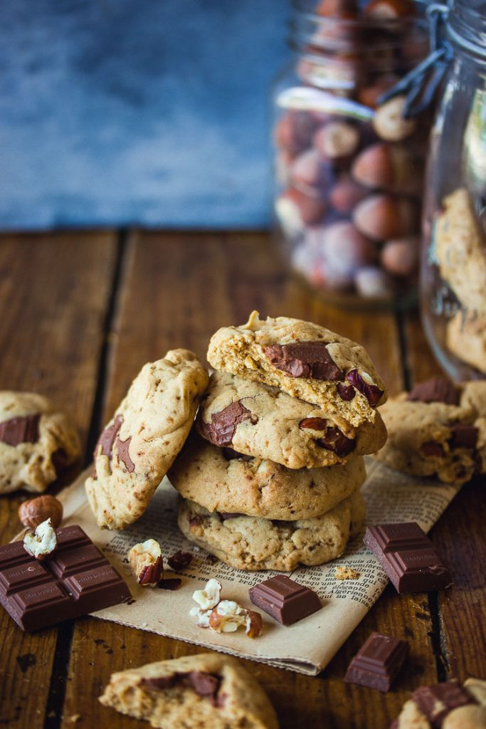 Cookies vegan au chocolat au lait
