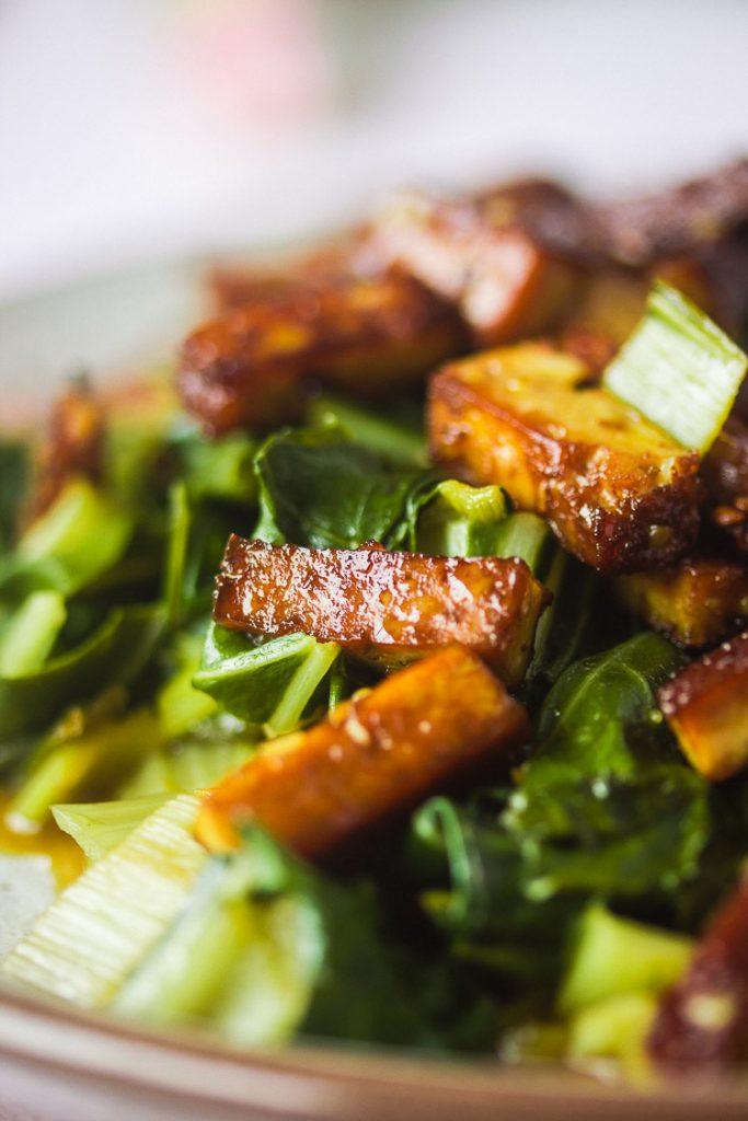 Lardons de tofu