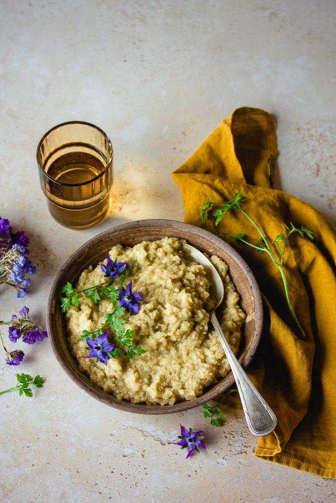 Céleri rave en risotto