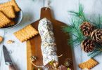 Saucisson en chocolat aux fruits secs