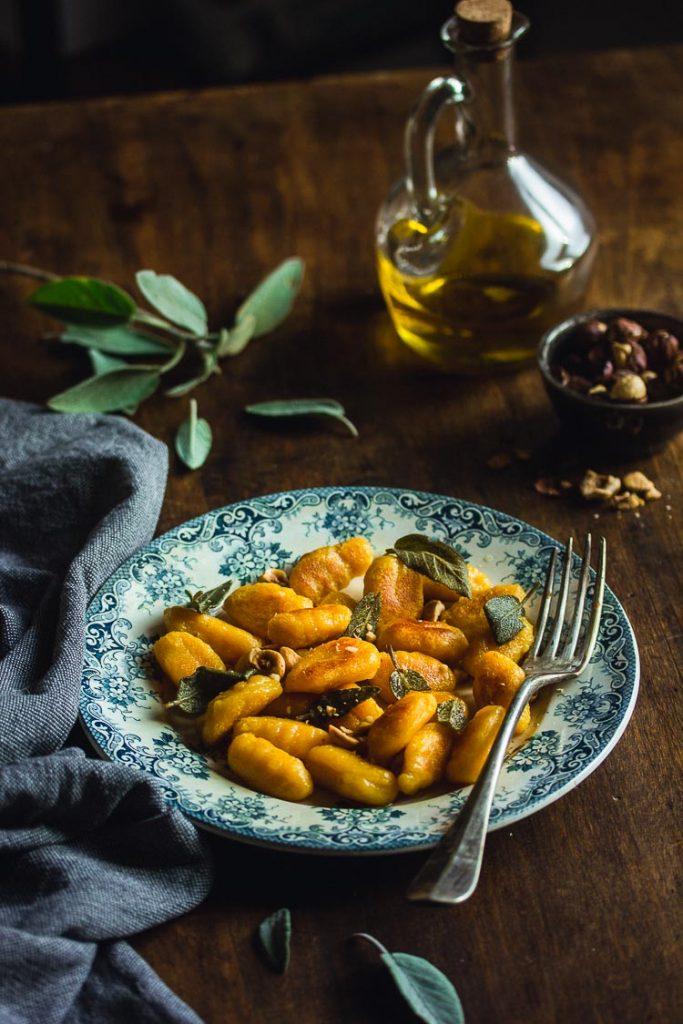 Gnocchi sauge et butternut