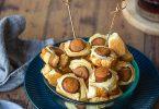 Recette des saucisses feuilletées sans viande
