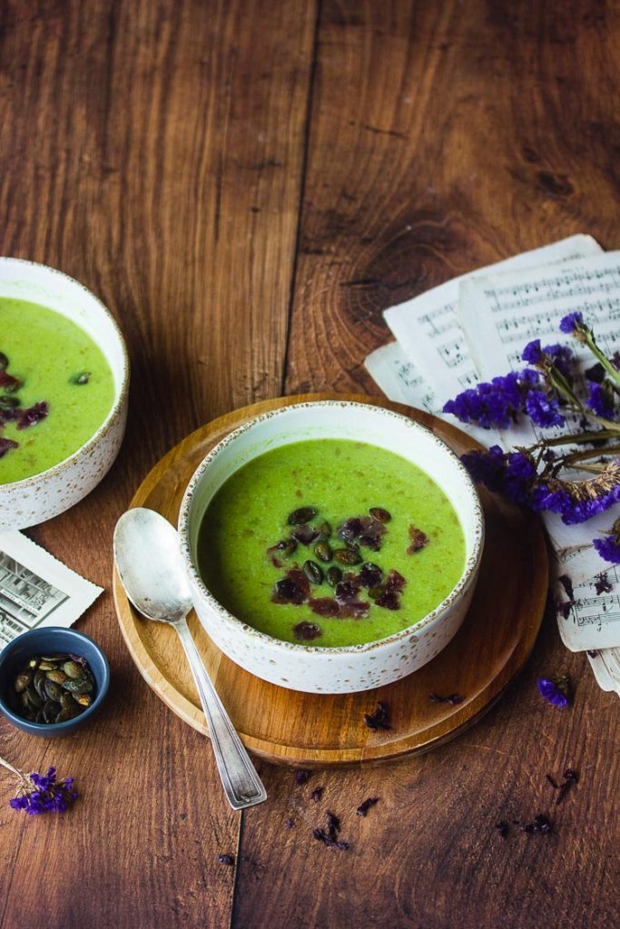 Recette de soupe de poireaux